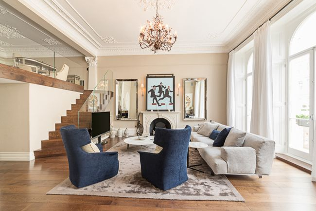 Photo portfolio featuring recent property marketing images in Kensington